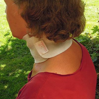 Halswikkel Set Volwassene: keelpijn