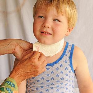 Hals Wikkelset Kind: keelpijn
