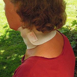 Hals Wikkelset Volwassene: keelpijn